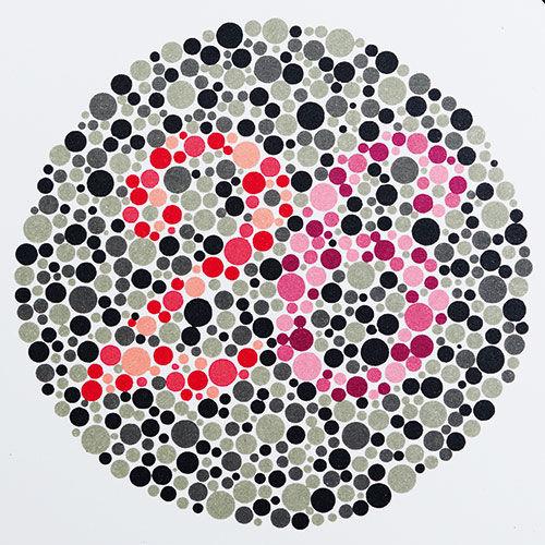 farbtafeln nach ishihara selbsttest